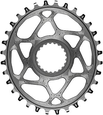 Absolute Black Oval Direct Mount Chainring - Shimano Direct Mount, 3mm Offset, Requires Hyperglide+ Chain alternate image 15