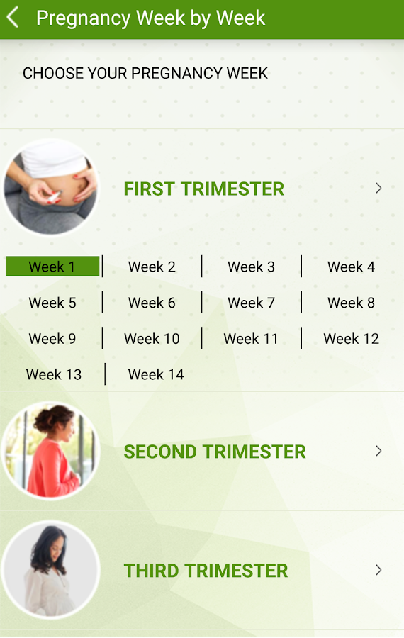 Pregnancy & Baby Care- screenshot
