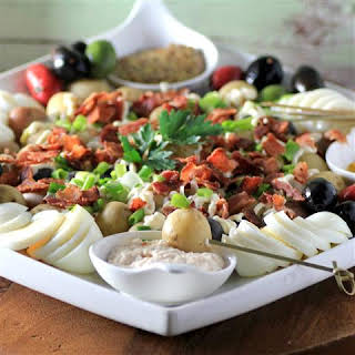 Potato Salad Appetizer.
