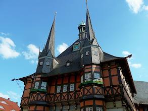 Photo: das Rathaus, eines der schönsten Europas (um 1500)