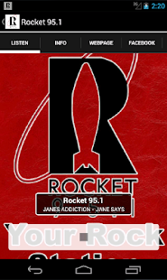 Rocket 95.1- screenshot thumbnail