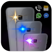 Color Flash Light Alert Calls & SMS