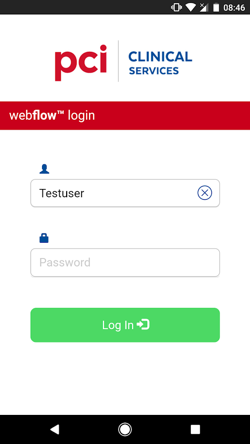 PCI webflow- screenshot
