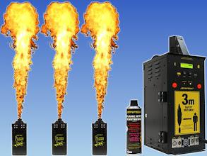 Photo: Safex Flame Jettt (35 €-Tag) + Aerosolkartusche für Flame Jettt St 11€