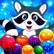 Raccoon Pop - Match && Blast Bubble Shooter Puzzle!