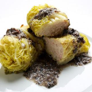 Stuffed Cabbage Rolls with Mushroom Sauce (Golabki Z Sosem Grzybowym) Recipe