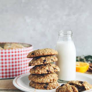 Spiced Orange Oatmeal Raisin Cookies.