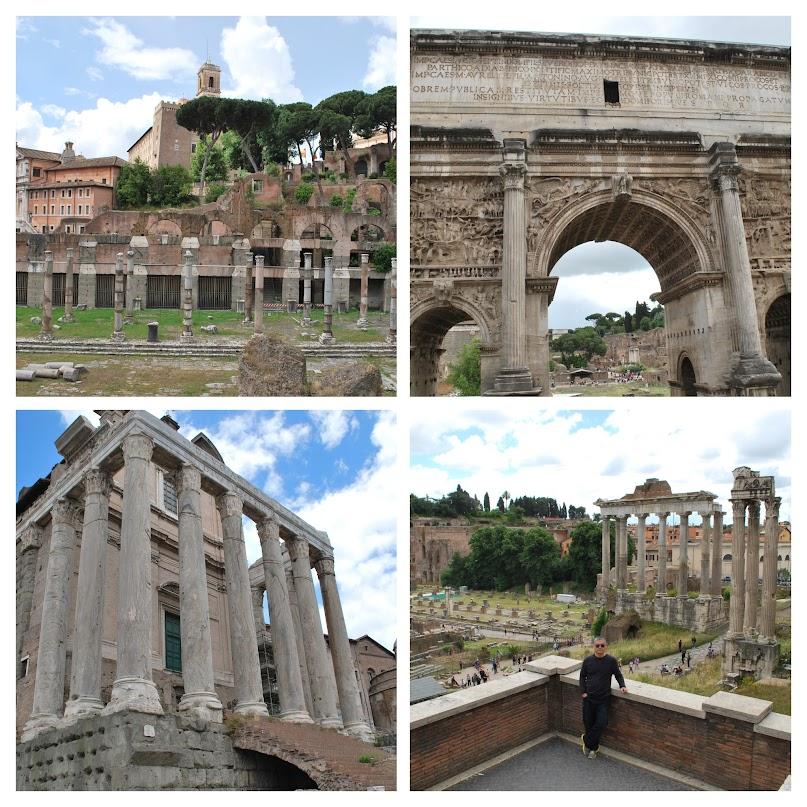 Rome, architectural ruins