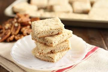 Easy Pecan Shortbread