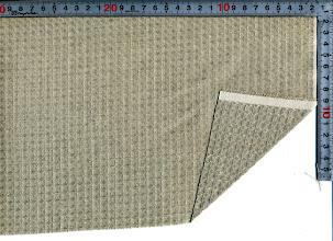 Photo: L40HT-FT:麻100%ワッフル生地129巾  10m~/mカット/m