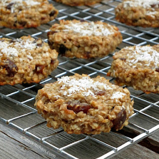 Healthy Coconut Banana Cookies Recipe