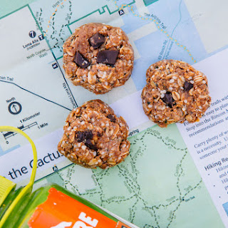 No Bake Coconut Almond Trail Cookies
