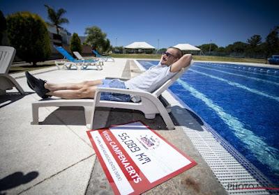 """Campenaerts geniet nog even van zijn werelduurrecord in Mexico: """"Zo erg was het niet"""""""