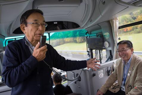 戎谷社長から西山村長のご紹介