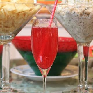 Sparkling Pome-Grapefruit Cocktails.
