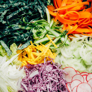 Citrus Miso Slaw With 10 Vegetables