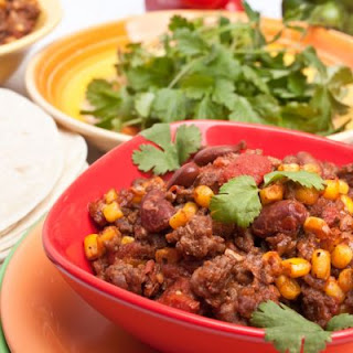 Thick Southwestern Beef Chili