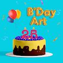 Happy Birthday Art Editor 2021 icon
