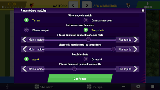 Football Manager 2019 Mobile Capture d'écran
