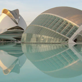by Luis Felipe Moreno Vázquez - Uncategorized All Uncategorized ( hemispheric, reflections, valencia, opera house )