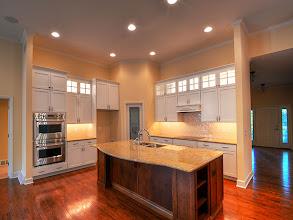 Photo: The custom kitchen in the LEIGHTON