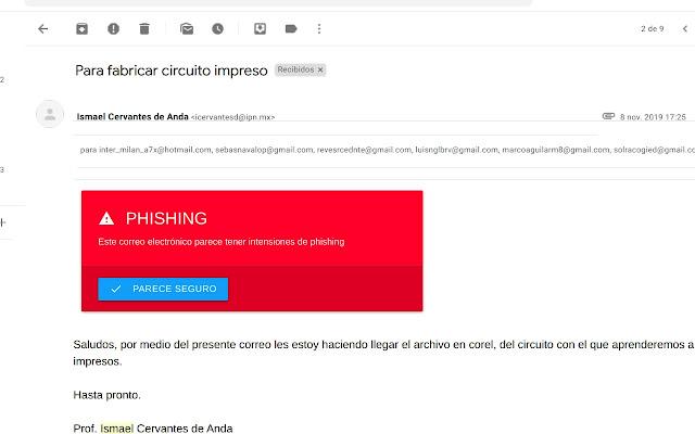 Detección de phishing