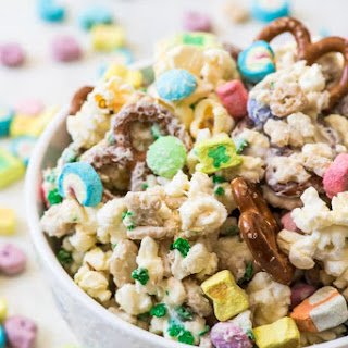 Lucky Charms Snack Mix.