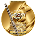 Keyboard for Galaxy Note 8 Gold Icon