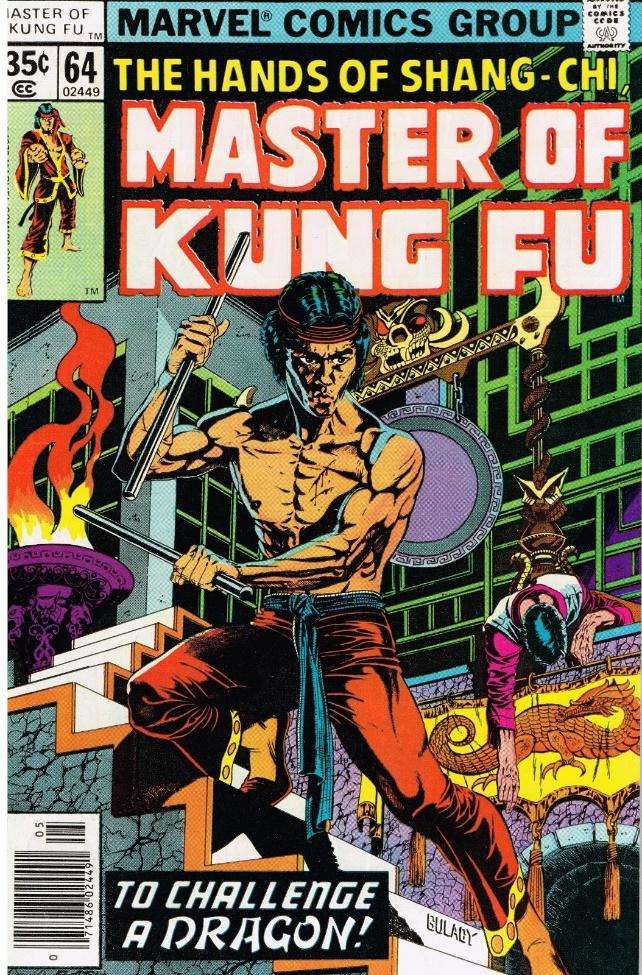 Cap'n's Comics: Shang Chi (Bruce Lee) by Paul Gulacy