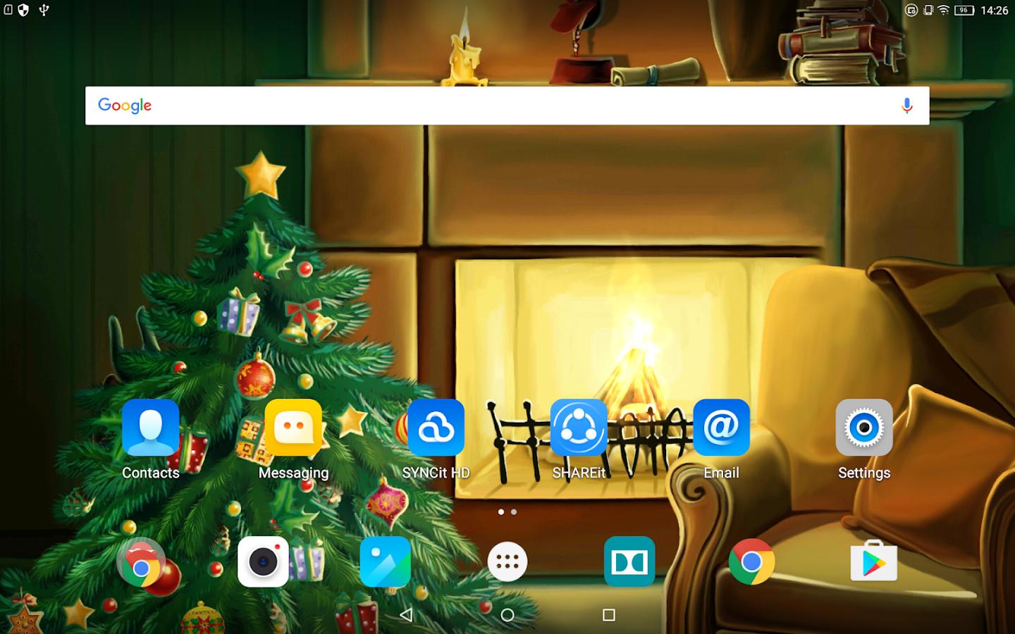 christmas fireplace wallpaper android apps on google play