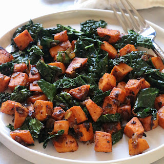 Sweet Potato and Kale Hash
