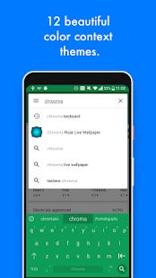 Chrooma Tastatur Screenshot