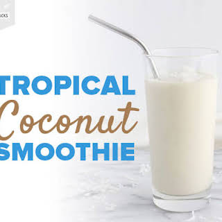 Tropical Coconut Smoothie.