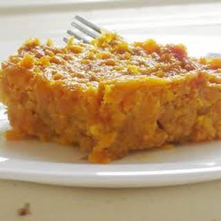 Cafeteria Carrot Souffle.