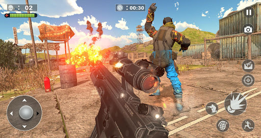 Code Triche Free Firing Commando - Counter Attack FPS 2019 APK MOD screenshots 3