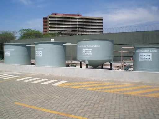Sistema estação de tratamento de efluente