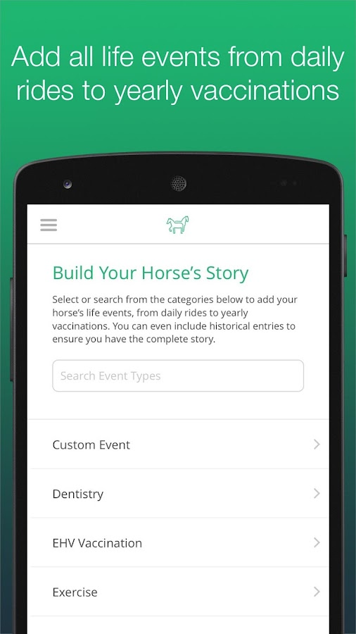 HorseDialog- screenshot
