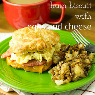 Egg Ham Cheese Biscuit Bake Recipes