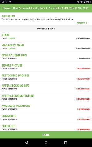 Merchandiser by Survey.com Screenshot