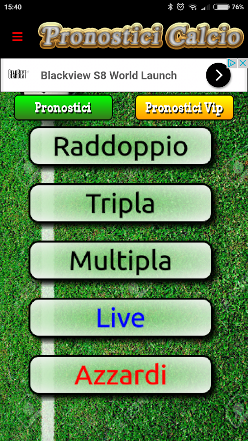 Pronostici Calcio, soccer predictions app - #SuccessfullyTHUNK'd