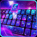 Galaxy 3D Hologram Keyboard Theme icon
