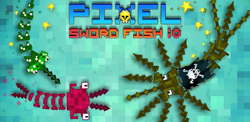 Pixel Sword Fish io for PC