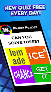 Game 100 PICS Quiz - Guess Trivia, Logo & Picture Games APK for Windows Phone