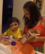 Photo: En la caja encontramos las instrucciones para hacer lso pastelitos.