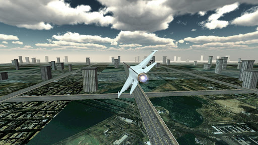 Jet Plane Fighter City 3D 1.0 screenshots 21