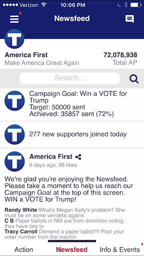 America First Screenshot