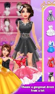 Ugly To Pretty Fashion Girl Makeup Dressup- screenshot thumbnail