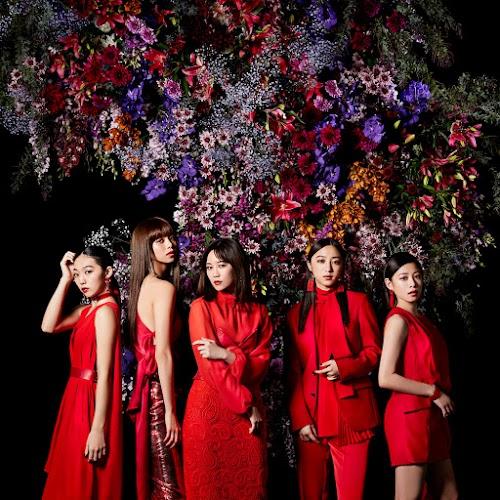"Flower, promovendo o single digital ""Kurenai no Dress""."