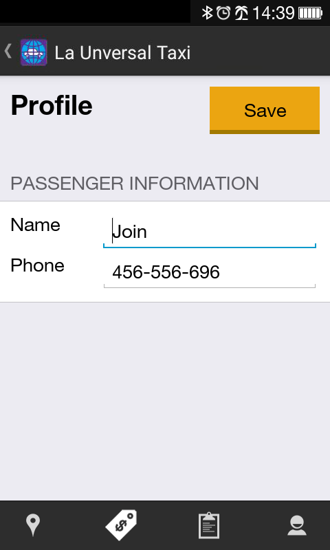 La Unversal Taxi- Cars & Taxi Booking App- screenshot