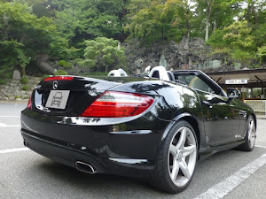 SLK R172 SLK200 Blue Efficiency AMGスポーツパッケージ 2014年式のカスタム事例画像 もり〜さんの2018年08月20日00:15の投稿